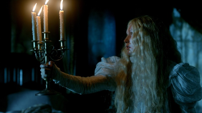 MIA WASIKOWSKA stars as Edith Cushing