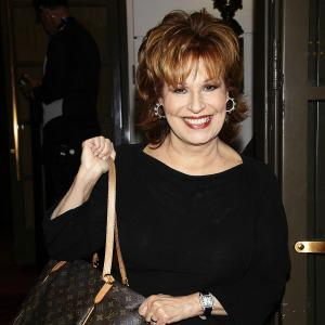 Joy Behar says goodbye to The