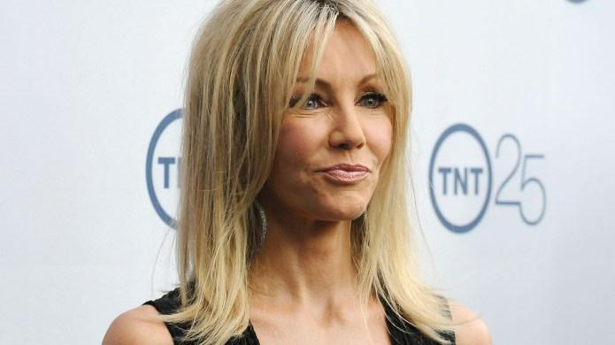 Heather Locklear attends TNT's 25th anniversary