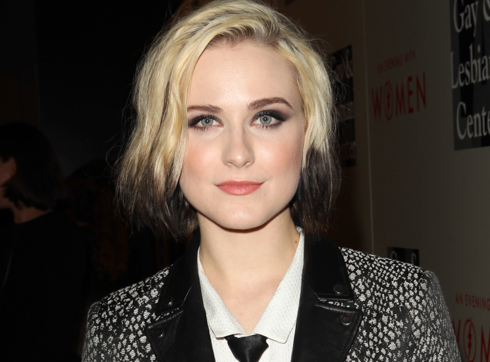 Evan Rachel Wood spotted making out