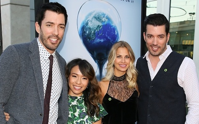 Drew Scott, Linda Phan, Jacinta Kuznetsov and Jonathan Scott attend a screening of Paramount Pictures' 'An Inconvenient Sequel: Truth To Power'