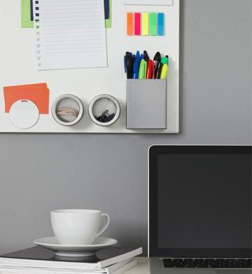 Styling a small workspace