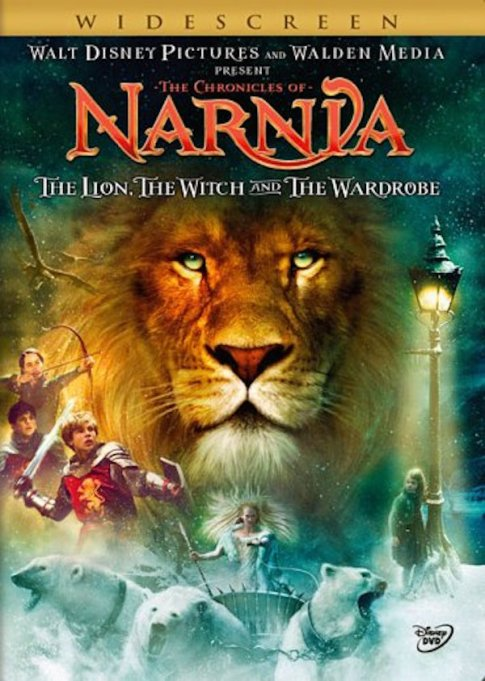'The Chronicles Of Narnia' DVD art