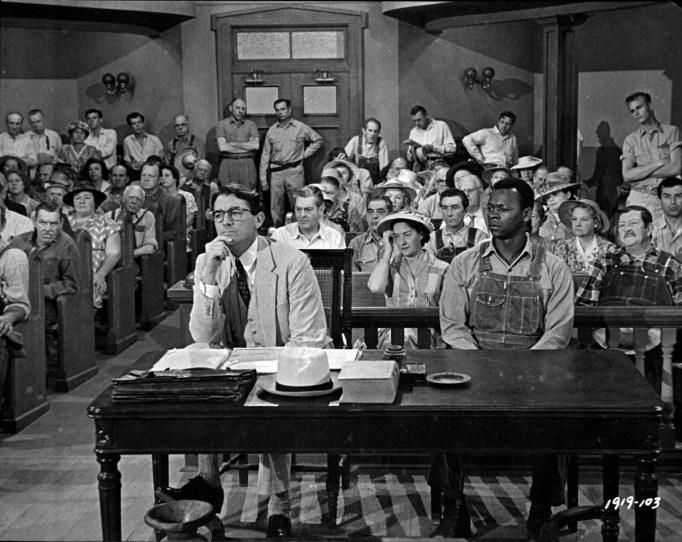 Atticus Finch and Tom Robinson in To Kill a Mockingbird