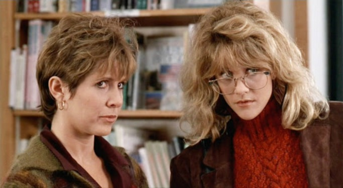 Carrie Fisher and Meg Ryan