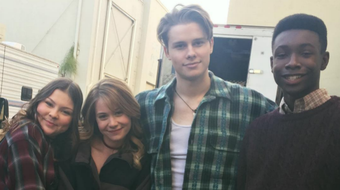 Hannah Zeile, Amanda Leighton, Logan Shroyer, Niles Fitch, 'This Is Us' Behind the Scenes