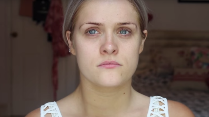 Beauty vlogger shares moving video about