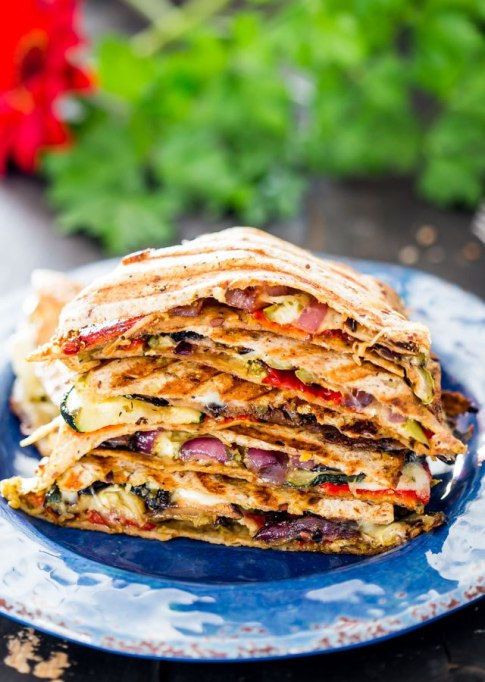 Grilled Veggies Quesadillas