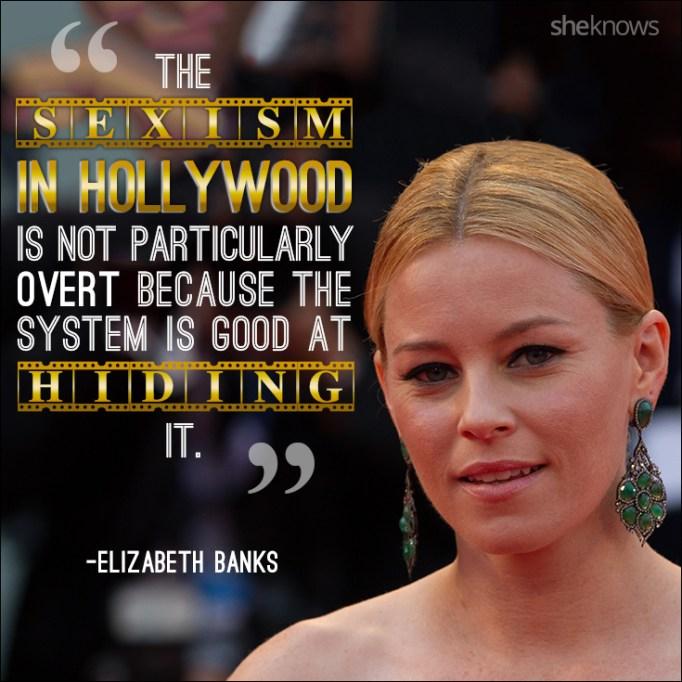 Elizabeth Banks quote