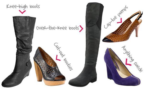 Fantastic fall shoe trends