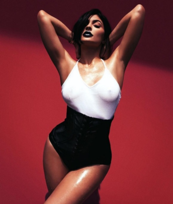 Kylie Jenner bodysuit