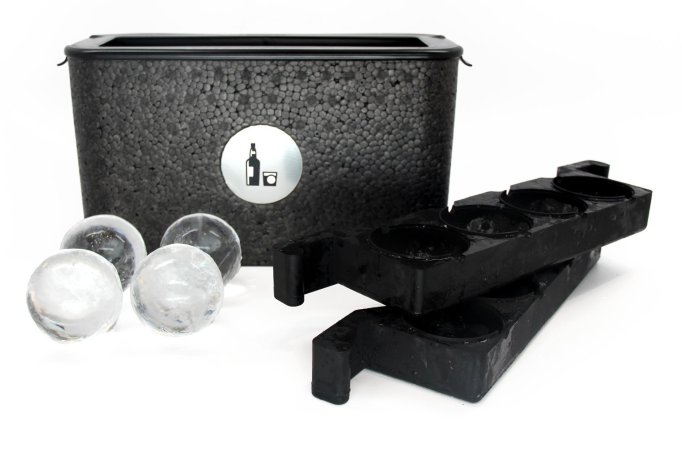 Wintersmiths Ice Chest Crystal Clear Ice Ball Maker