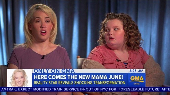 Mama June's Weight Loss Should Be