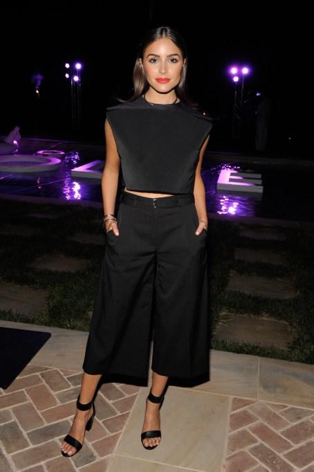 Olivia Culpo culottes outfit