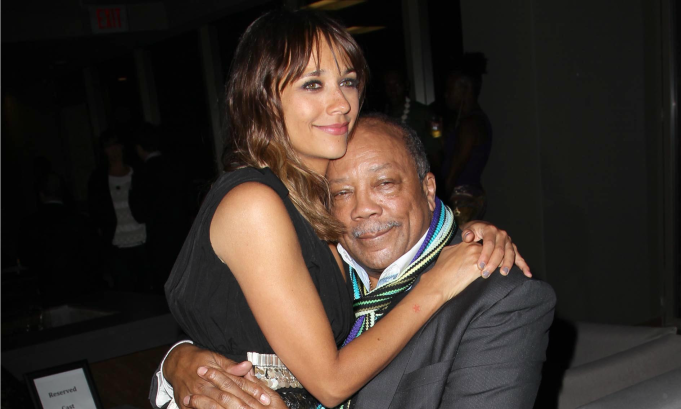 Celebrities with famous fathers: Rashida Jones & Quincy Jones