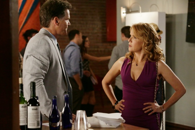 Kathryn and John Kennish on Switched at Birth