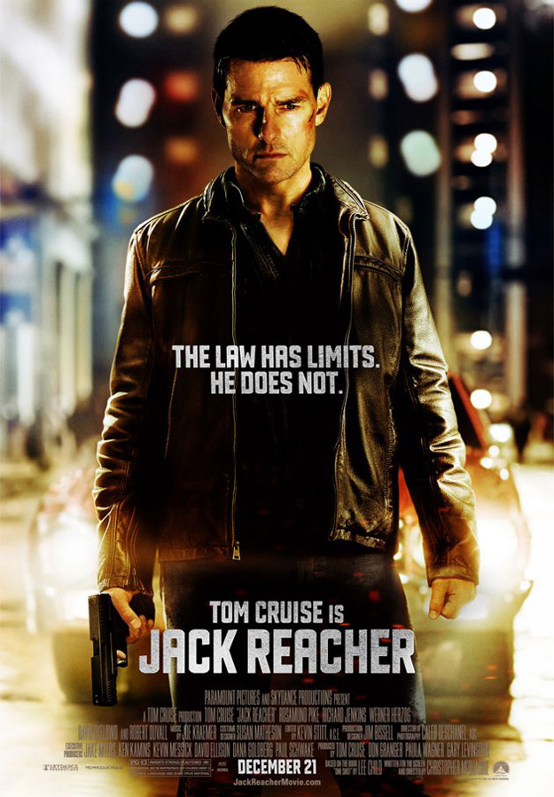Tom Cruise is Jack Reacher