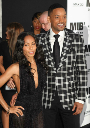 Jada Pinkett-Smith and Will Smith at Men in Black III Premiere