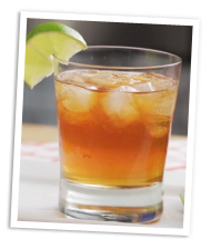 Jager Lime cocktail