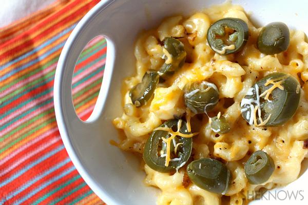 Spicy jalapeño mac n' cheese