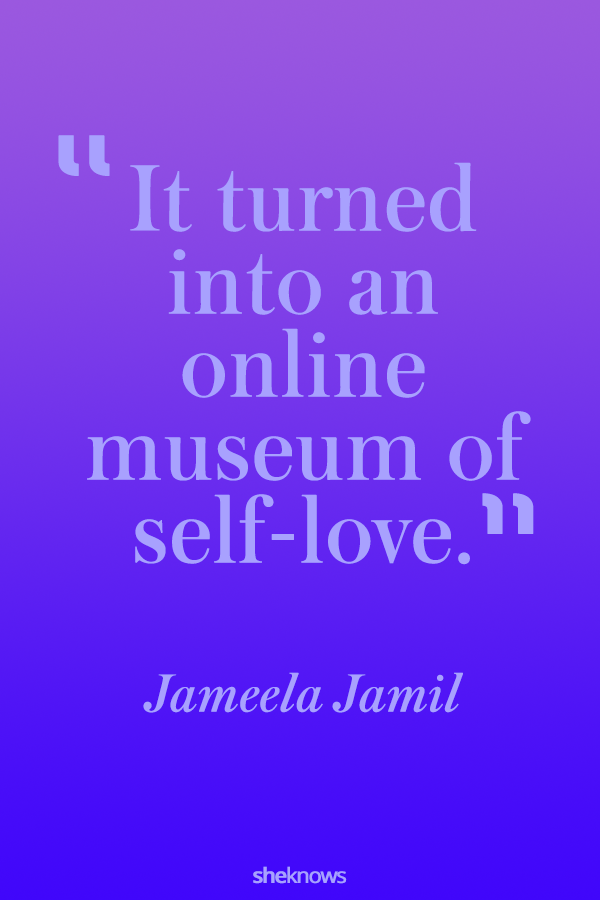 It turned into an online museum of self-love.
