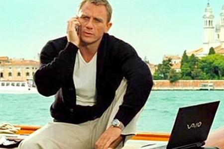 James Bond product placement