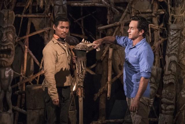James Lim voted off Survivor: Ghost Island