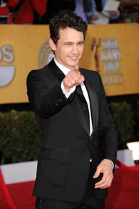 James Franco shoots Oz the Great and Powerful
