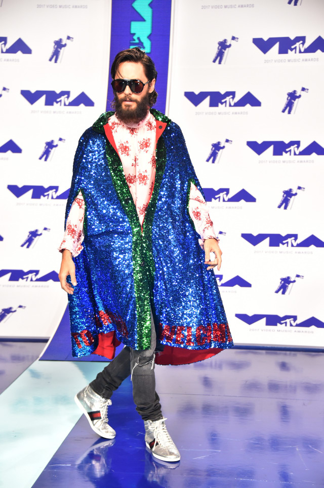 Best Dressed at the 2017 VMAs: Jared Leto