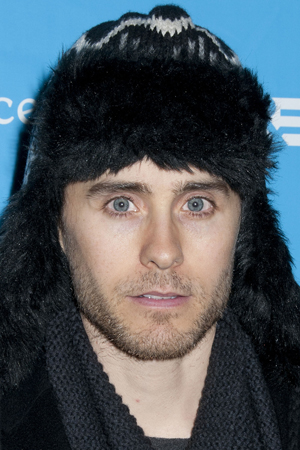 Jared Leto wears an ear as a necklace