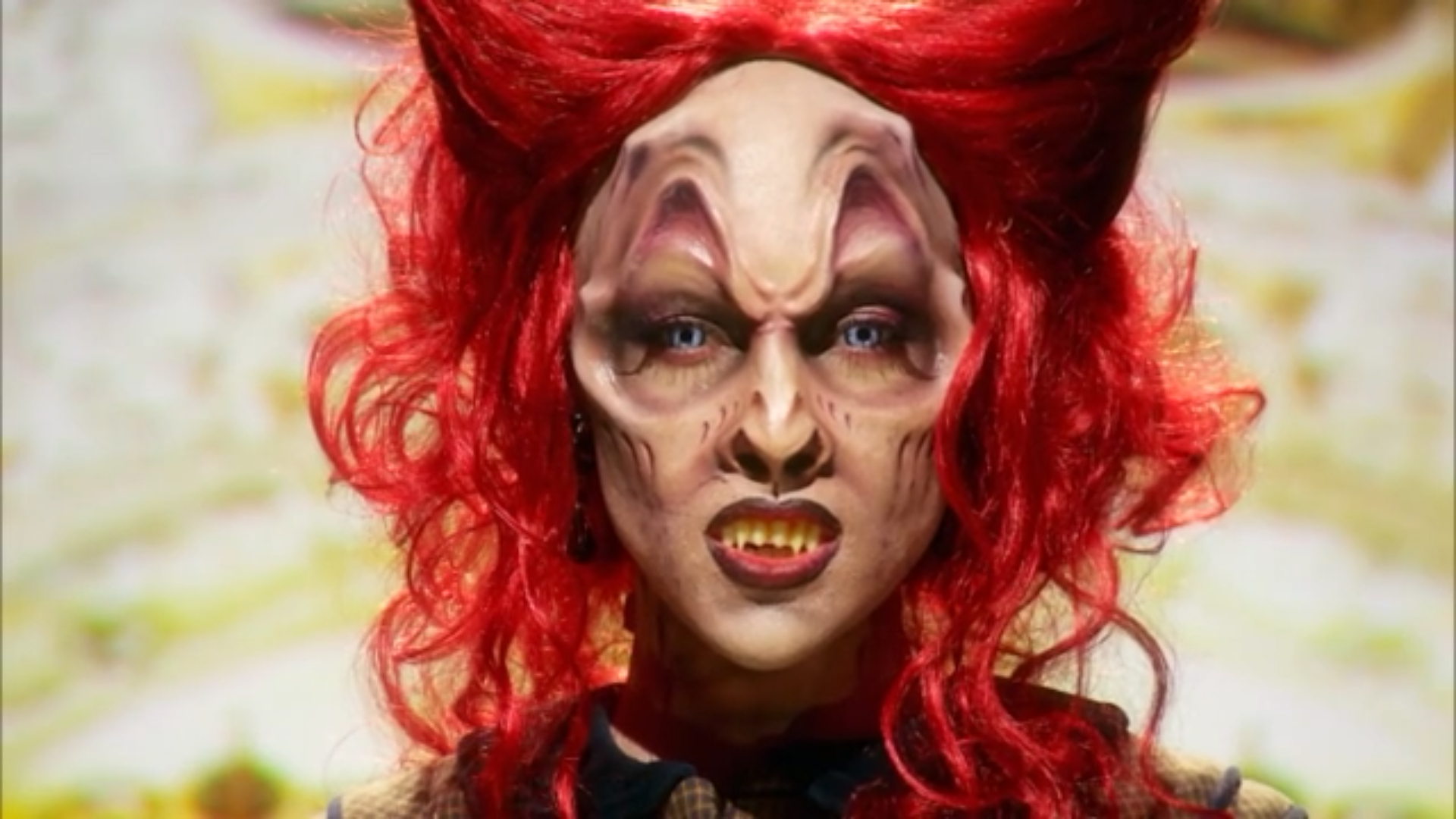 A close look at Jasmine Ringo's finished makeup