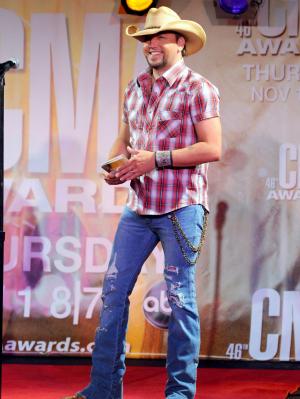 Jason Aldean at the CMA Award Nominations