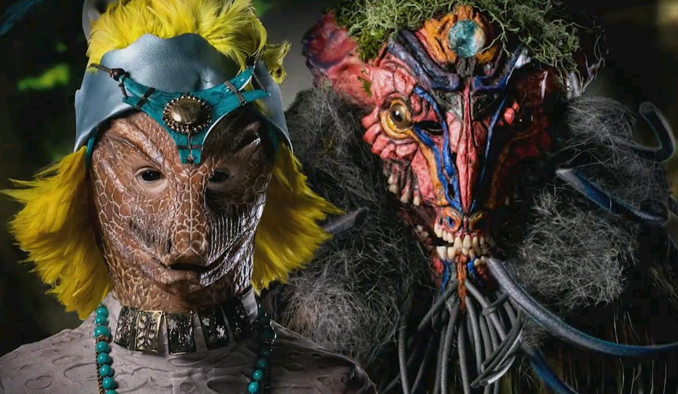 Jason Henricks and Ricky Vitus' finished gatekeeper makeups