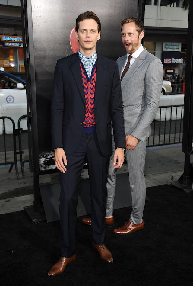 Skarsgards It Premiere Alex and Bill 1