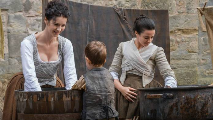 Scene cut from Outlander infuriates moms