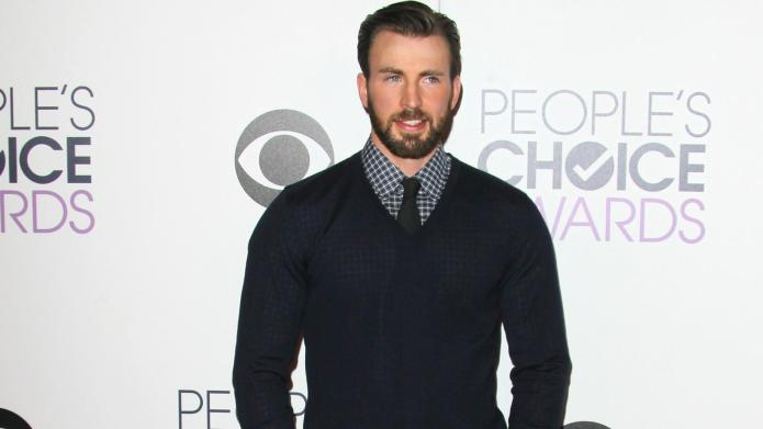 Chris Evans melts our heart after
