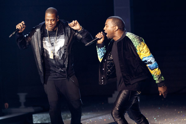 Jay-Z and Kanye West are thinking Watch the Throne sequel