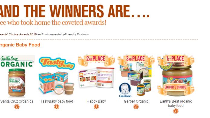 SheKnows 2010 Parents' Choice Awards:Environmentally-Friendly Products