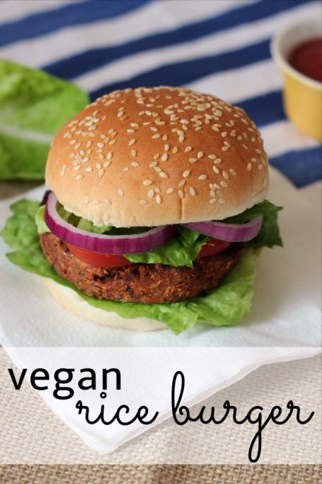 Vegetarian 4th of July: Hearty vegan rice burgers even meat eaters will love