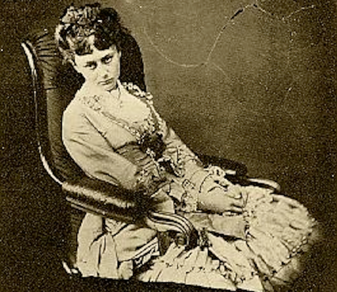 Alice Liddell as a teenager