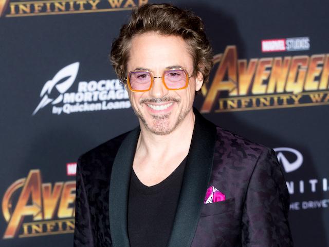 Robert Downey Jr. attends the 'Avengers: Infinity War' World Premiere