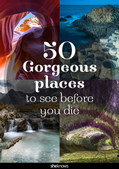 Beautiful places to see