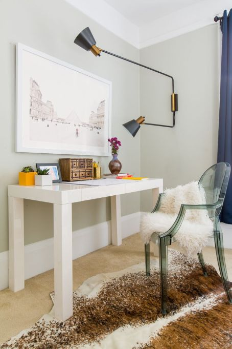 How to Decorate Small Spaces: Adding luxe accessories can make a small space feel grand.