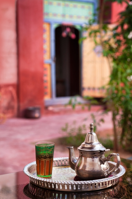 Mint Tea in Marrakesh