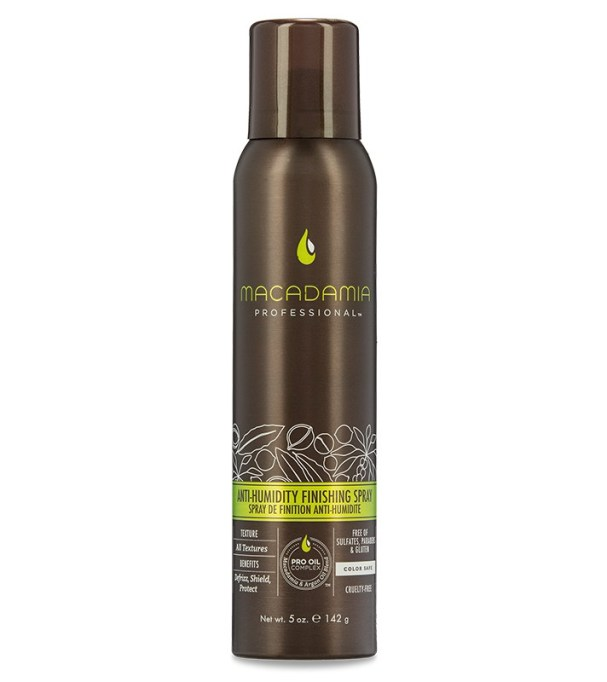 The Absolute Best Frizz-Fighting Hair Products: Macadamia Anti-Humidity Finishing Spray | Hair Care 2017