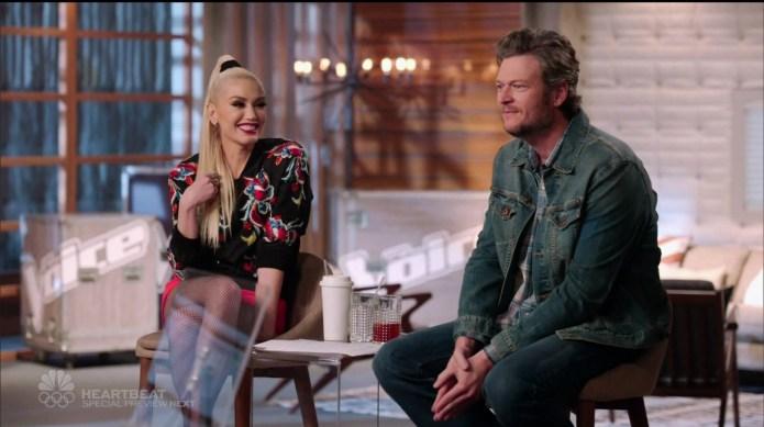 Blake Shelton & Gwen Stefani get