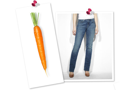 Carrot-shaped