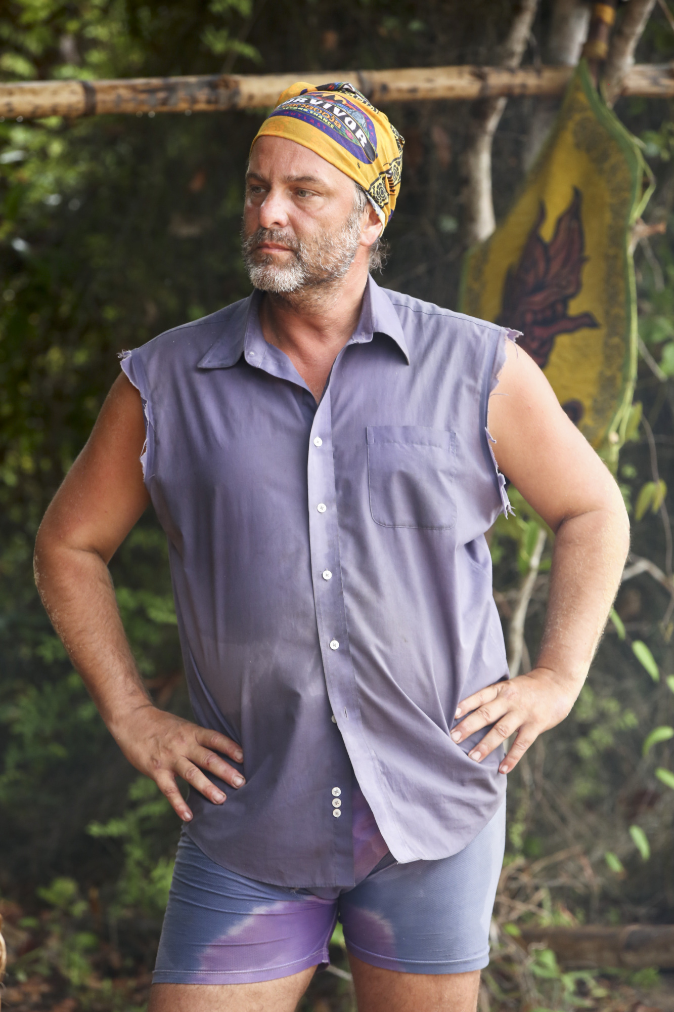 Jeff Varner at Angkor camp on Survivor: Second Chance
