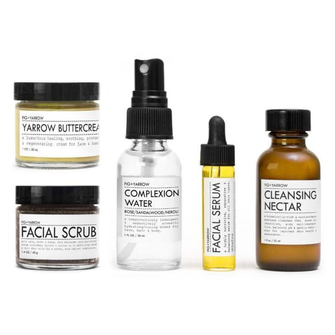 Beauty Products That Will Sell Out Fast This Holiday Season | Fig + Yarrow Facial Care Kit