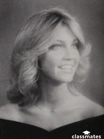 Heather Locklear Yearbook Photo